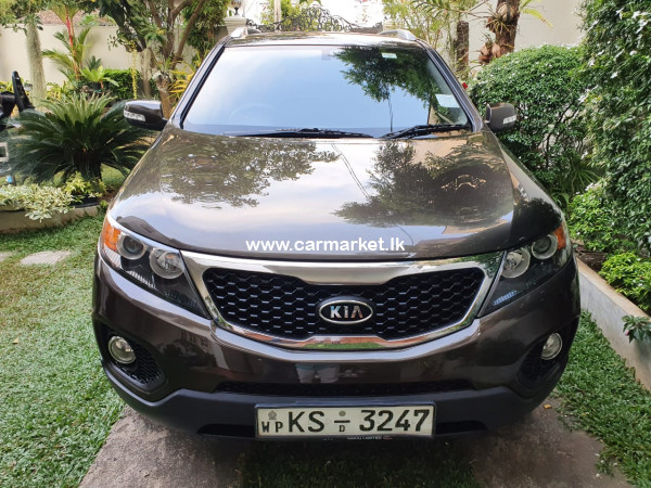 Kia Sorento 1 to 10 option 2011