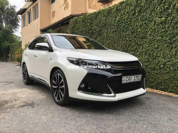 Toyota Harrier G Sport 2015